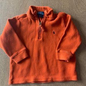 🏇🏼 2/$20 Orange Polo Ralph Lauren Quartet Zip 2
